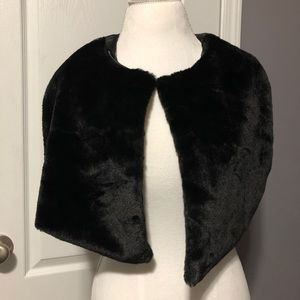 Calvin Klein Accessories - Calvin Klein • Faux Fur Shawl
